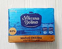 Масло вершкове Mleczna Dolina 200 гр. 82%