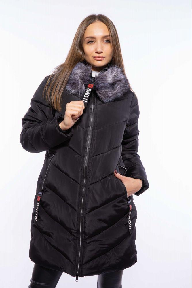 Женская удлиненная зимняя куртка 120PSKL9610