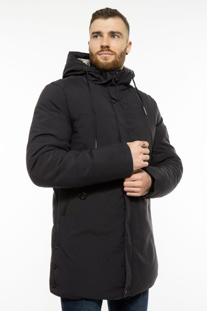 Куртка мужская зимная  черная 191P8906