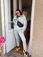 Женский спортивный костюм на флисе Oversize, фото 1