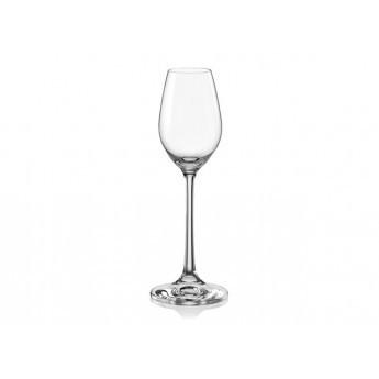 Набір бокалів скляних Bohemia Viola 6 шт. 60мл 40583