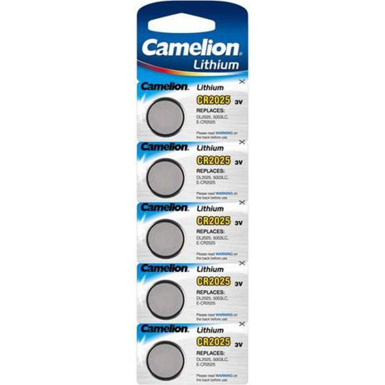 Батарейка Camelion CR2025/5bl 3V