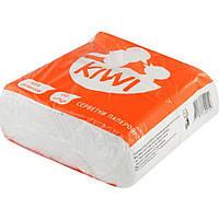 Серветки столові Kiwi Барна 450 шт. білі Еко 0019 (7)