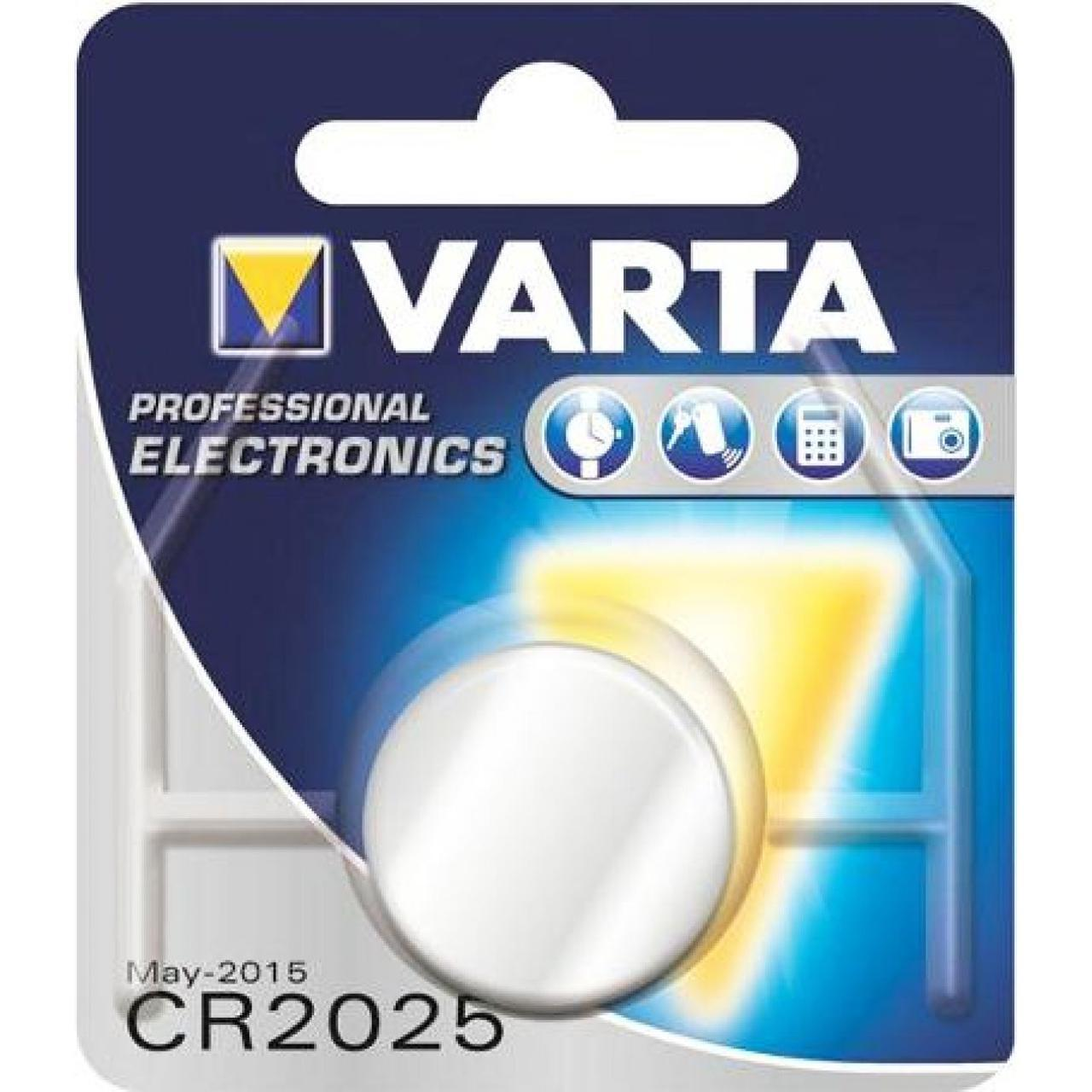 Батарейка Varta CR2025/1bl