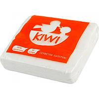 Серветки столові Kiwi 40 шт. білі Еко 0033 (20) (100)