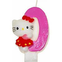 "Свічка ""Hello Kitty-0"" 12 шт. A09 (600)"