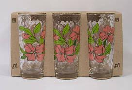 """Набір стаканів скло (6шт) 200мл """"Ніжні квіти"""" 05c1256/86004176/Галерея"""