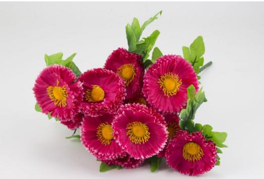 """Букет """"Маргаритка"""" 13 цветков 48 см прессованный"""