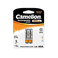 Аккумуляторы Camelion Ni-Mh (R-03,600 mAh) / блистер 2 шт (12)