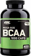 Аминокислоты Optimum Nutrition BCAA 1000 400 капсул