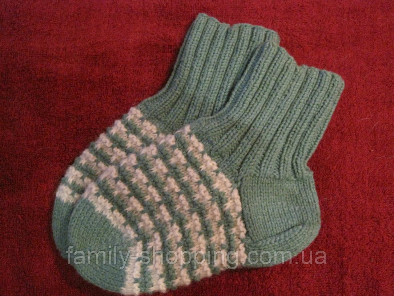 Шкарпетки дитячі футболки ручної роботи, р. 26-27
