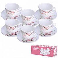 """Сервіз чайний 12 предметів """"Японська вишня"""" 30055/61122"""