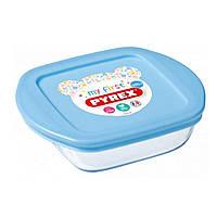 """Форма для запікання """"Pyrex Baby Blue"""" 14х12х4см 0.35 л ї75385"""