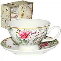 """Набір подарунковий чайний """"Патісьер""""(чашка 200мл +блюдце13,5см) 042-01-07"""