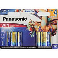 Батарейки Panasonic Alkaline Evolta LR-03/блістер 8шт (12)