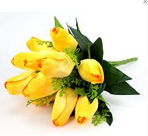"""Букет """"Тюльпани"""" 12 квітів 48см непресований"""