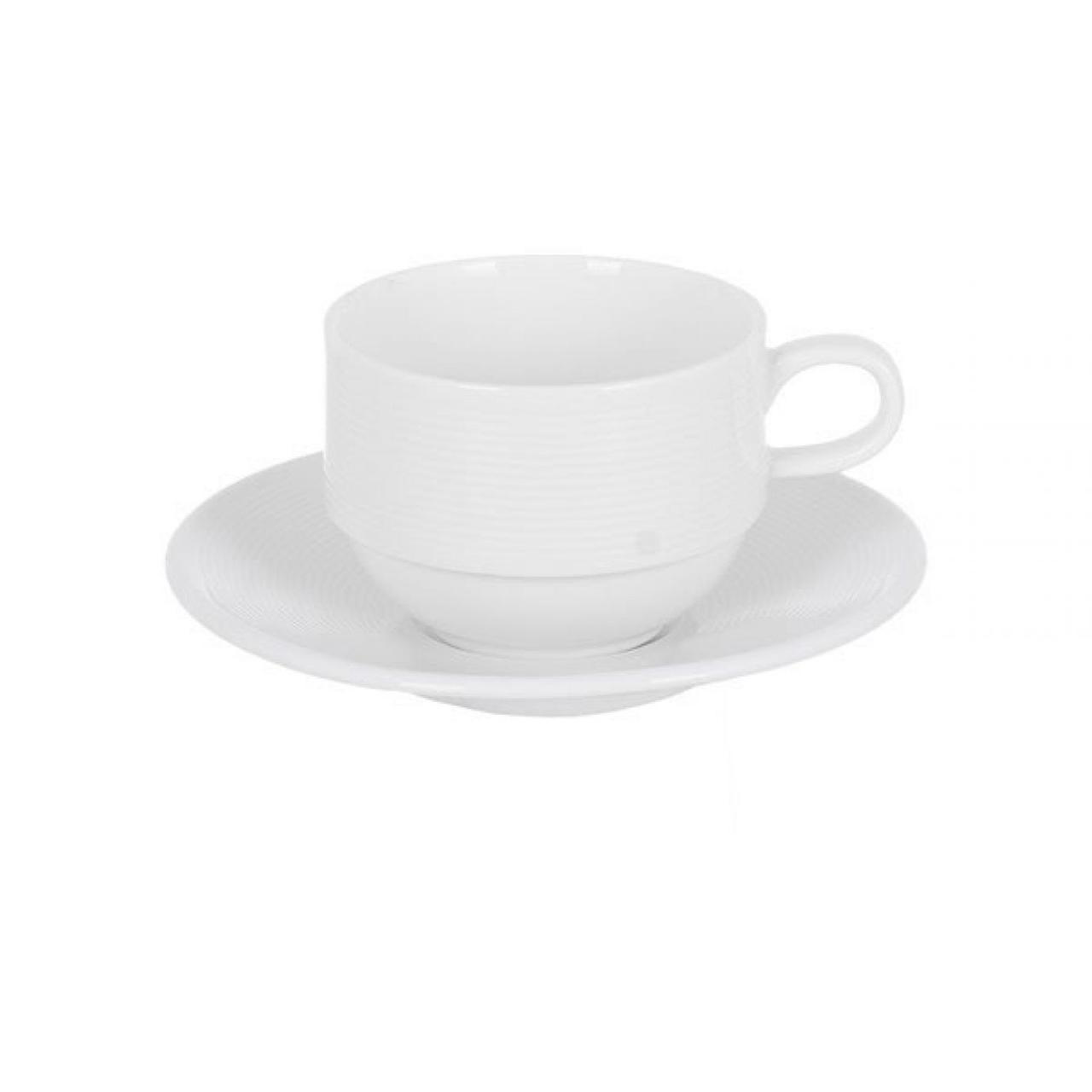 """Набір чашок керам. (2шт) """"Luminarc. Westhill Style"""" 250мл з блюдцями 83154/WH-3105-2"""