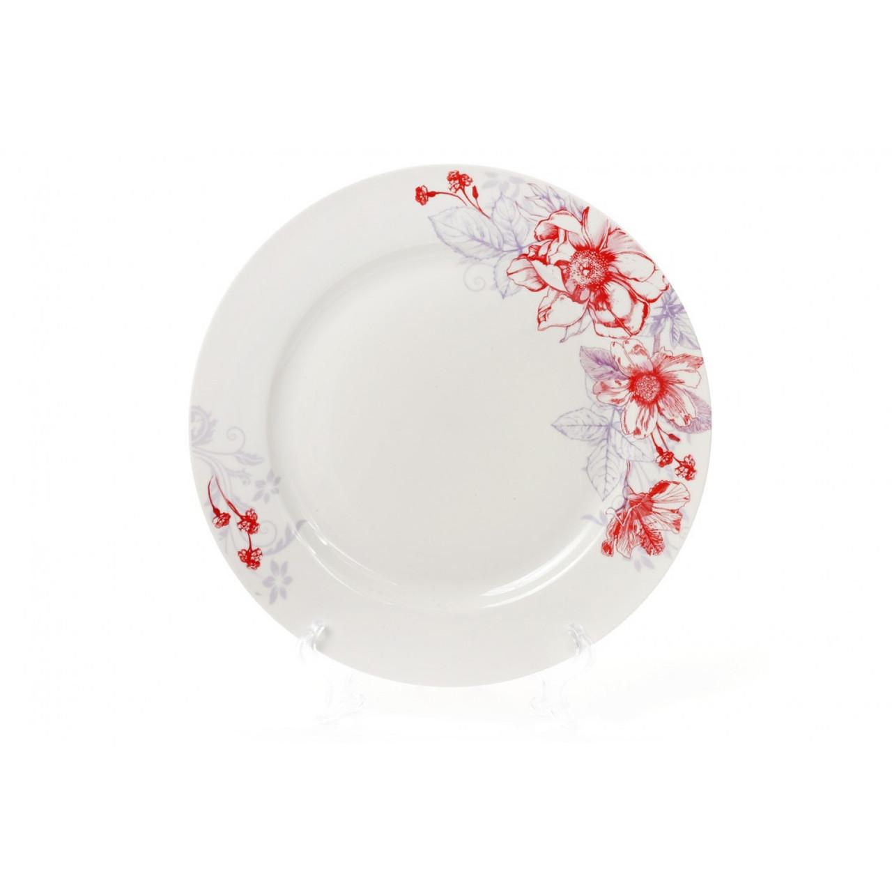 """Тарелка обеденная """"Цветы"""" 27 см 320-153"""
