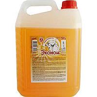 """Моющее средство """"Сама Эконом"""" 5 л для посуды апельсин (1)"""