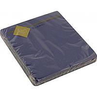 Серветки столові ТМ Luxy 3-шарові 20 шт. сині