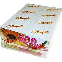 Салфетки бумажные Alsupak Барна 90103 500 шт. белые