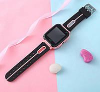 Детские смарт часы S 4 Kids Smart Watch Pink родительский контроль с кнопкой SOS смарт часы для детей