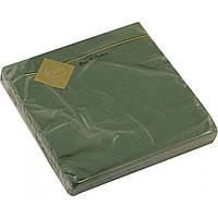 Серветки столові ТМ Luxy 3-шарові 20 шт. зелені