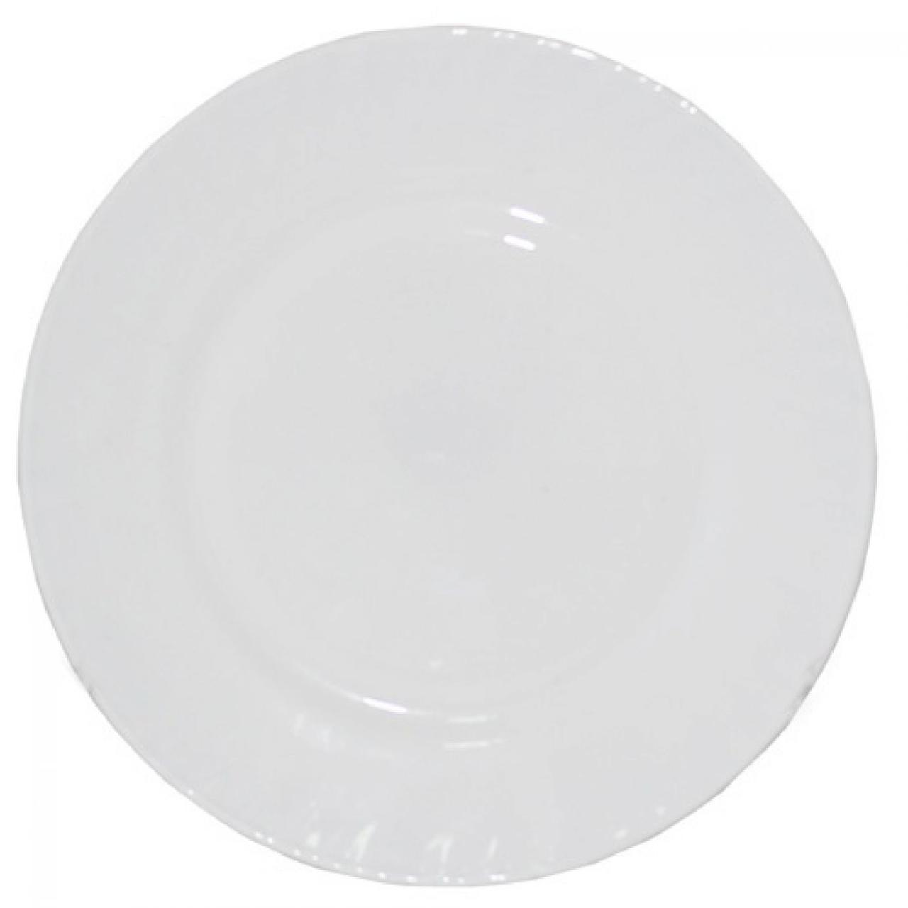 "Тарілка склокерам. ""Біла"" 9"" №30058-00(6)(48)/S&T"