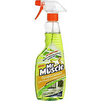 "Средство для мытья стекол ""Мистер Мускул"" 500 мл (курок) Лайм (12)"