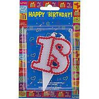 """Свічка ювілейна """"18"""" з кольоровою оправою (10)"""