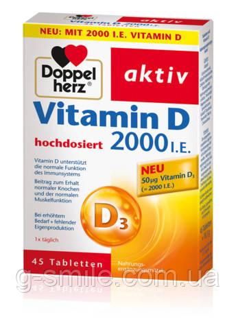 Doppelherz Vitamin D 2000 I.E.