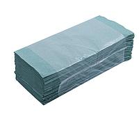 "Рушник паперовий Z ""Buroclean"" (160шт) зелений 10100102"