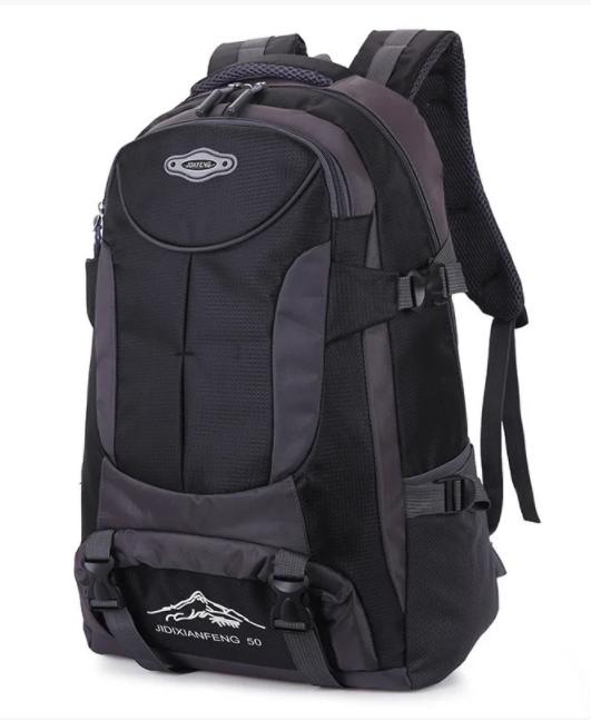 Туристический рюкзак походной вместительный JDXFend спортивный рюкзак Черный