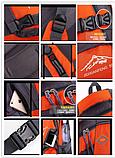 Туристический рюкзак походной вместительный JDXFend спортивный рюкзак Черный, фото 7
