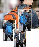 Туристический рюкзак походной вместительный JDXFend спортивный рюкзак Черный, фото 3