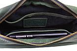 Сумка женская кожаная маленькая клатч  SULLIVAN sg50(25) зеленая, фото 4