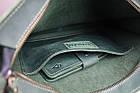 Сумка женская кожаная  большая шопер SULLIVAN sg51(40) зеленая, фото 3