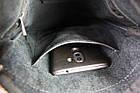 Сумка мужская кожаная планшетка SULLIVAN smvp69(22) черная, фото 7
