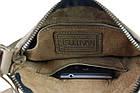 Сумка мужская кожаная планшетка SULLIVAN smvp79(25) оливковая, фото 6