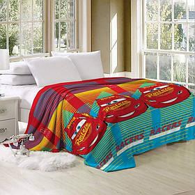 Плед- покрывало велсофт CottonTwill Тачки Соревнования 200x220 см
