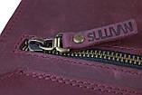Сумка женская кожаная маленькая клатч  SULLIVAN sg6(25) марсала, фото 8