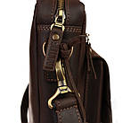 Сумка мужская для документов большая кожаная А4 SULLIVAN smg13(48) коричневая, фото 2