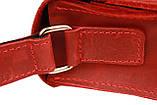 Сумка женская кожаная маленькая клатч  SULLIVAN sg7(25) красная, фото 7