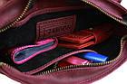 Сумка женская кожаная маленькая клатч  SULLIVAN sg14(25) марсала, фото 4