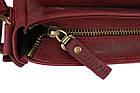 Сумка женская кожаная маленькая клатч  SULLIVAN sg14(25) марсала, фото 7