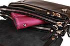 Сумка женская маленькая барсетка клатч SULLIVAN sg16(32) черная, фото 5