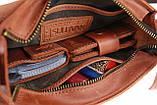 Сумка женская кожаная маленькая клатч  SULLIVAN sg19(25) светло-коричневая, фото 6