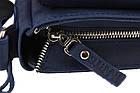 Сумка женская кожаная маленькая клатч  SULLIVAN sg25(23) синяя, фото 6