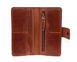 Кошелек женский кожаный большой SULLIVAN  kgb66(10) светло-коричневый, фото 6