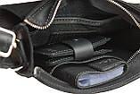 Сумка женская кожаная маленькая клатч  SULLIVAN sg32(25) черная, фото 4